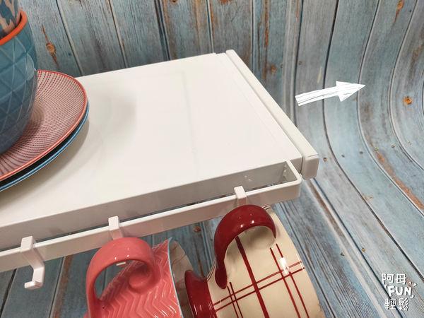 tower伸縮式雙層收納架(白) 山崎生活美學 Yamazaki 廚房收納 可自由拉伸 伸縮式設計 廚房小物 調味料 杯子碗盤
