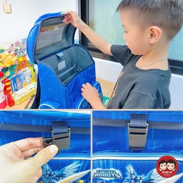 怡寶機甲英雄懸浮磁扣書包