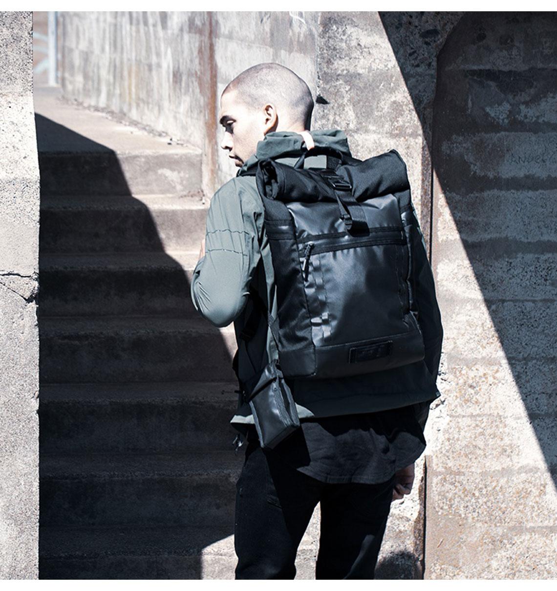 防水包系列 Timbuk2 Tech Roll Top Backpack 15 吋都會通勤防水捲式