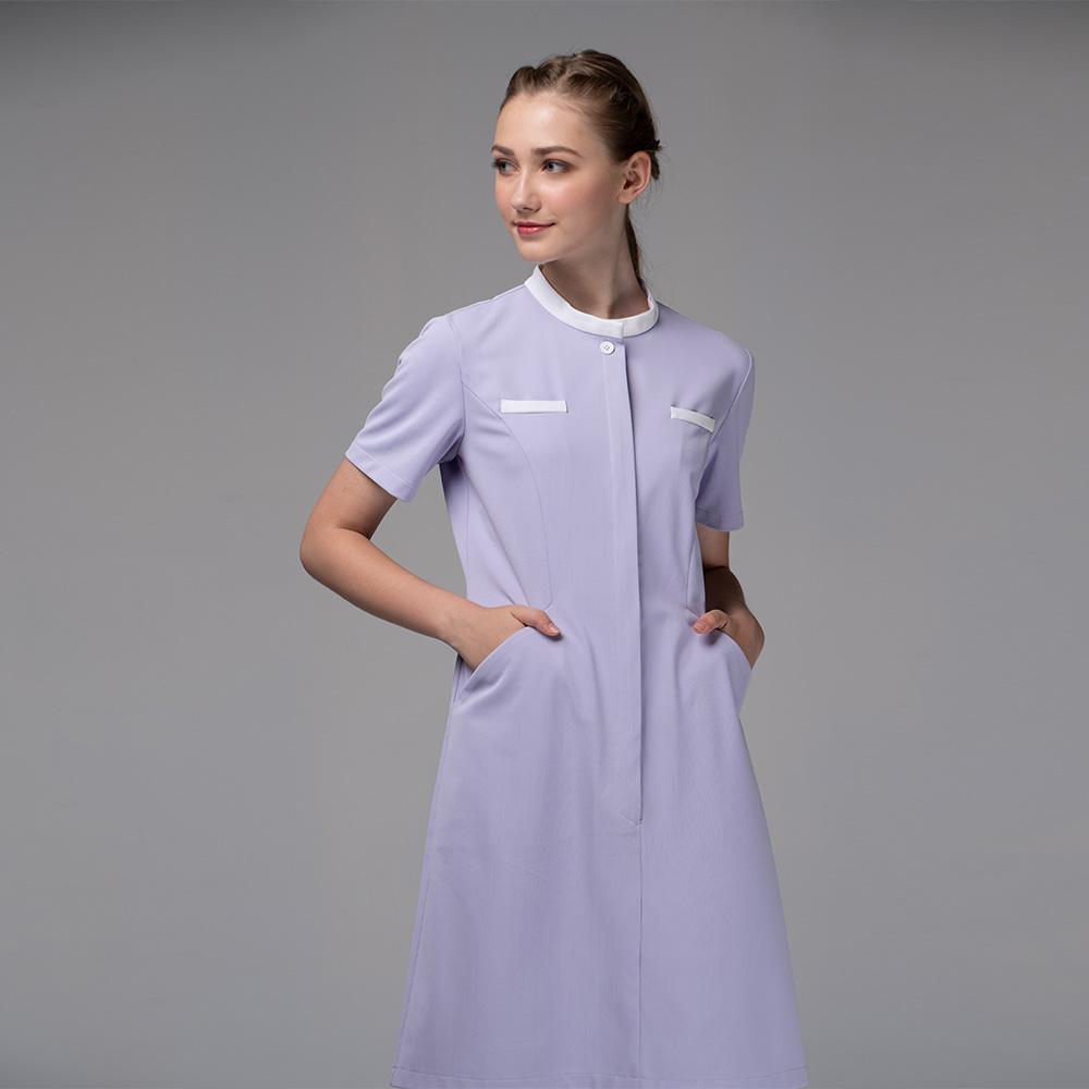 護士服裙裝:紫色護士服