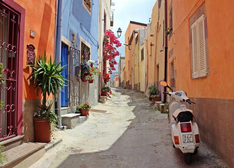 西西里島女人的異國風情