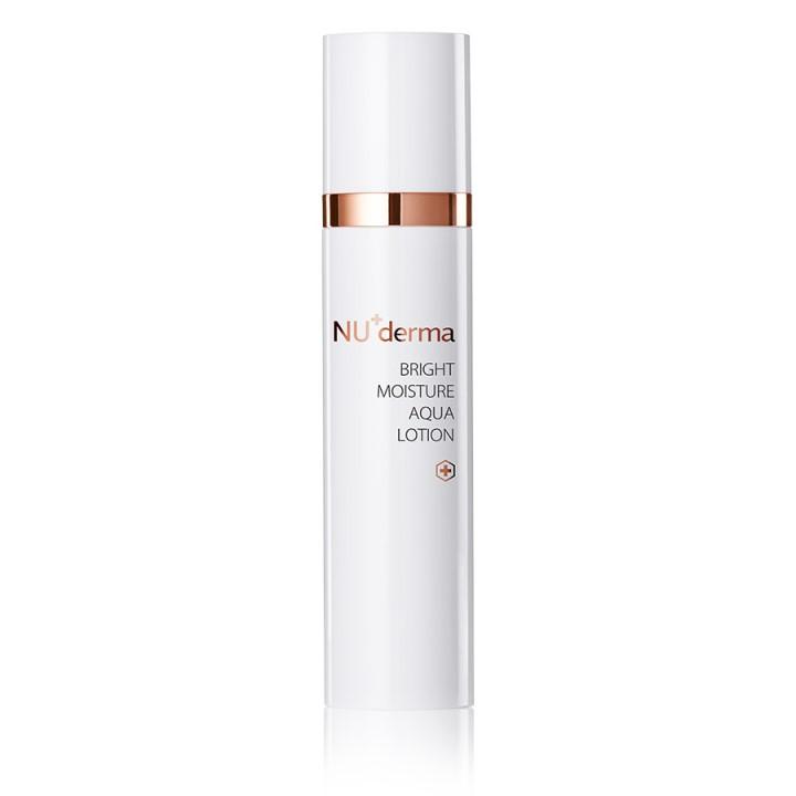 簡單保養步驟化妝水產品:NU+derma晨光淨透彈力露
