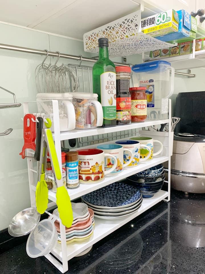 tower可調式三層置物架(白) 廚房收納 山崎Yamazaki