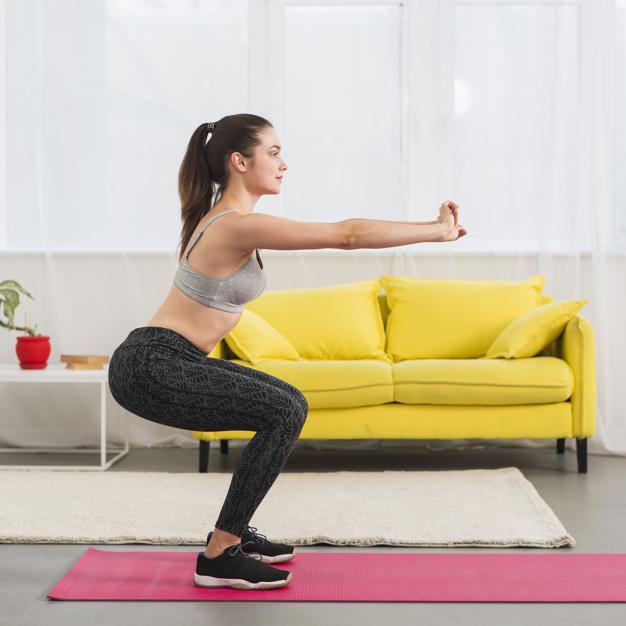 增加肌力訓練,不可不做深蹲運動喲~