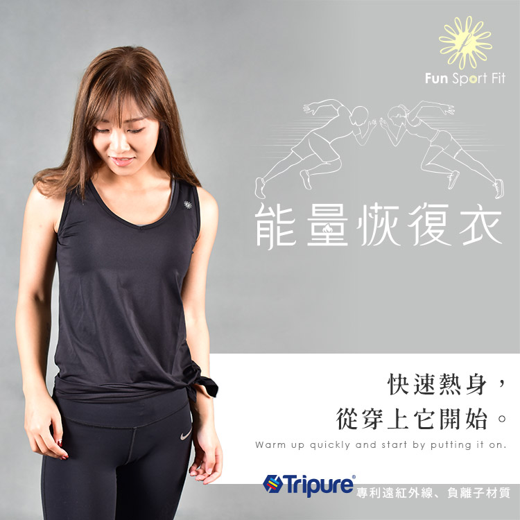 Tripure能量恢復衣系列