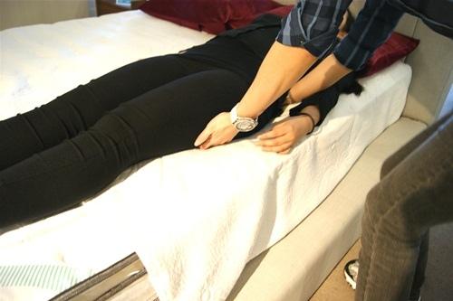 描述: 晶璽蠶絲獨立筒床墊試躺