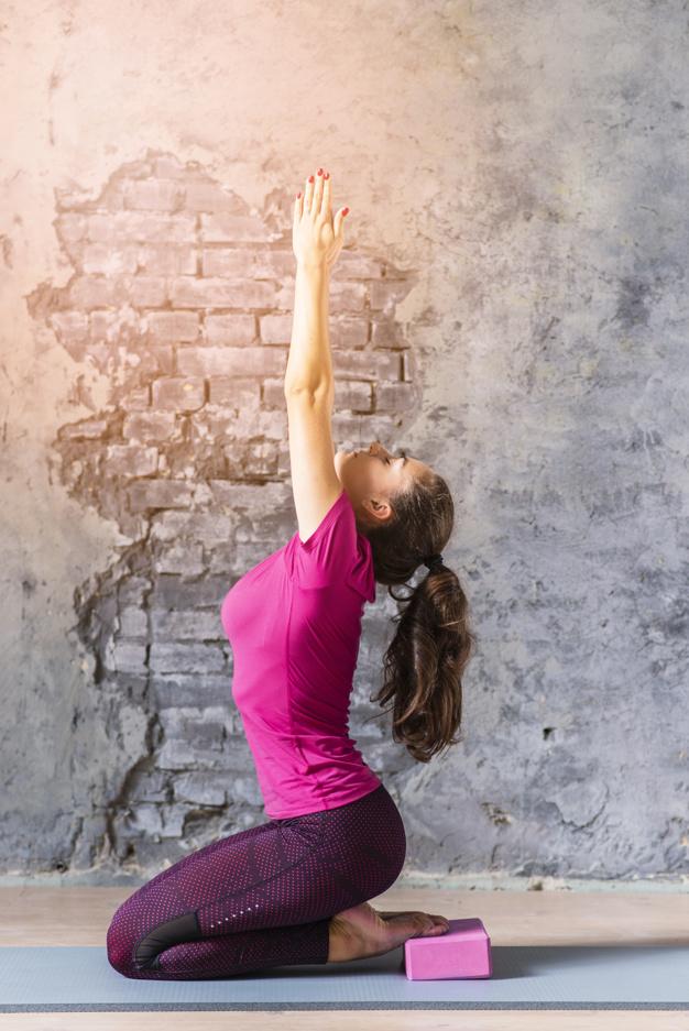 靜心樹 瑜珈練習磚(60度)瑜伽磚 yoga blocks│ FunSport fit-瑜珈磚使用方式