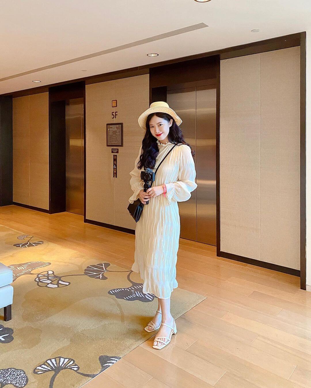 優雅的韓系穿搭