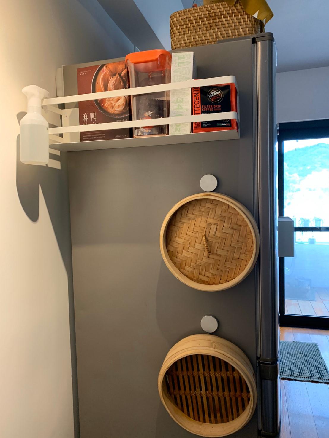 Plate磁吸式置物架 山崎收納 Yamazaki 廚房收納 冰箱側邊 超強磁吸