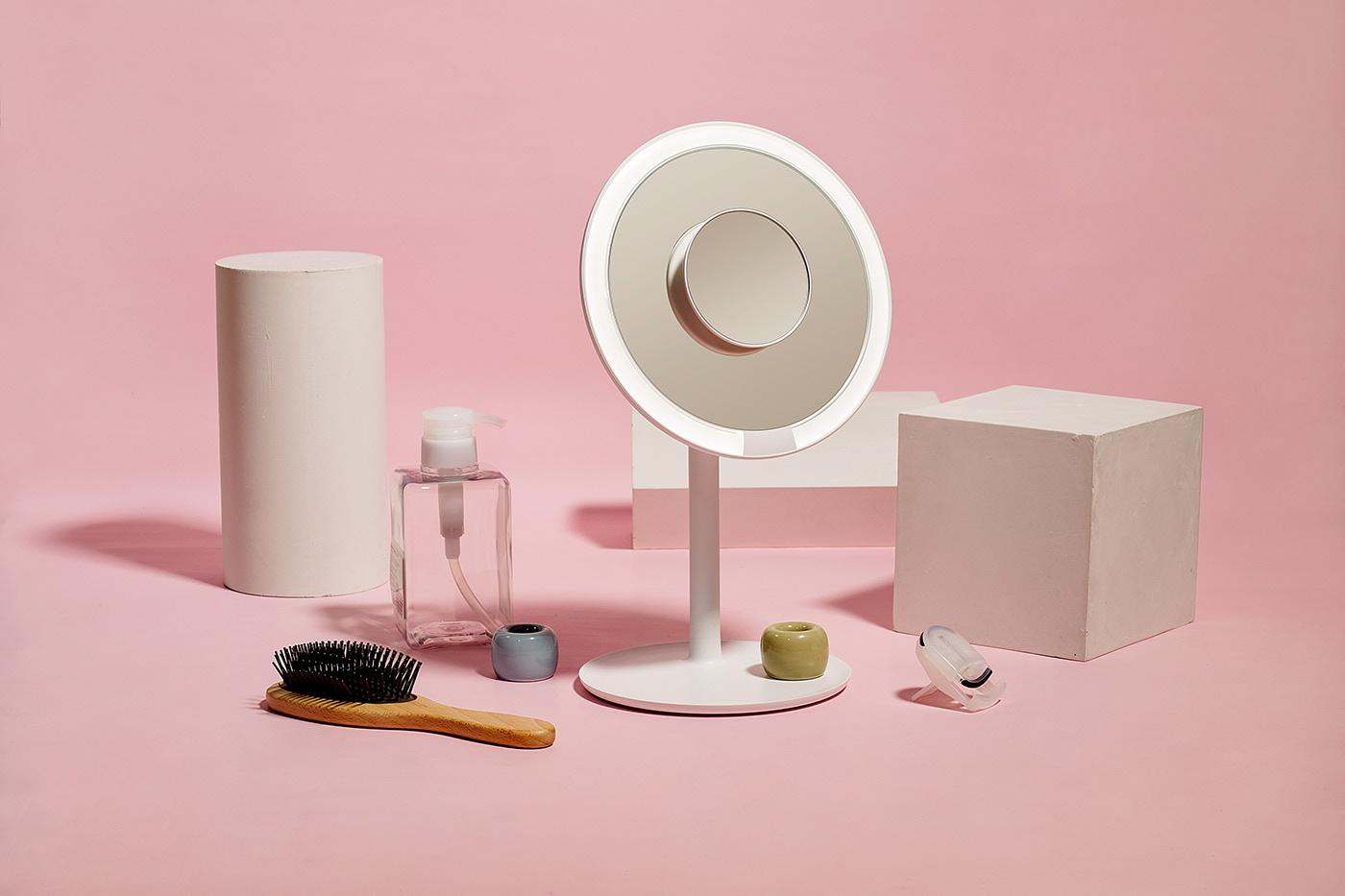 Amiro燈泡化妝鏡