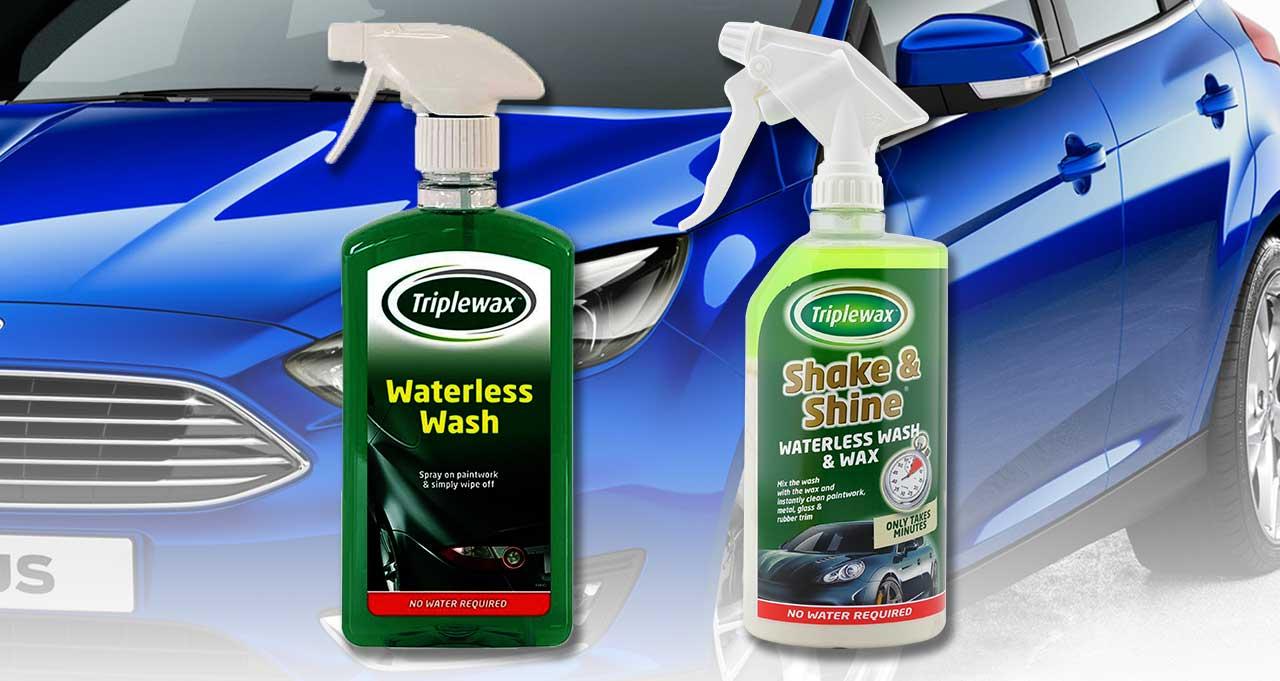 免水洗車液