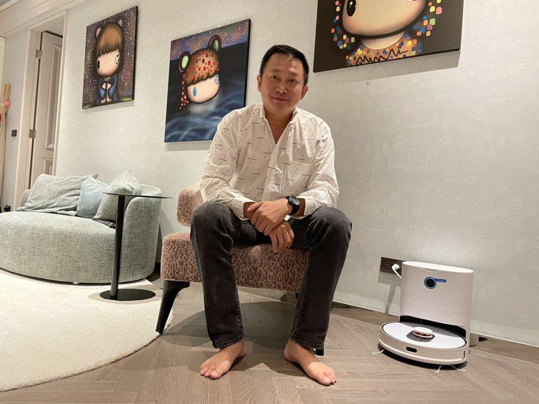 匯聚科技總經理郭永福強調,Roidmi睿米可說是開啟智慧掃地的新時代。匯聚科技/提供