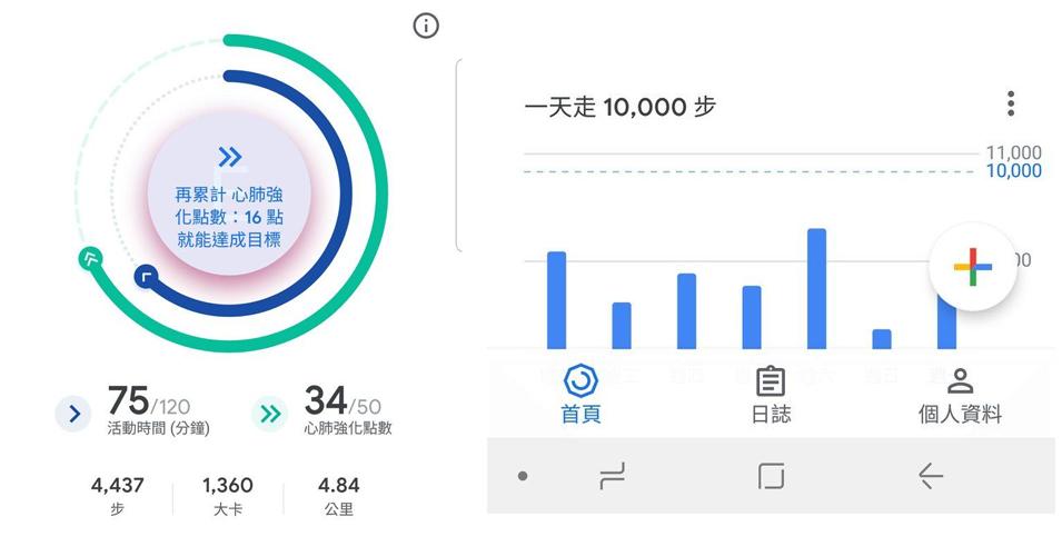 健走app-google fit