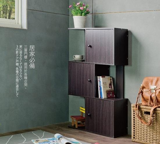 TZUMii米諾創意三層門櫃