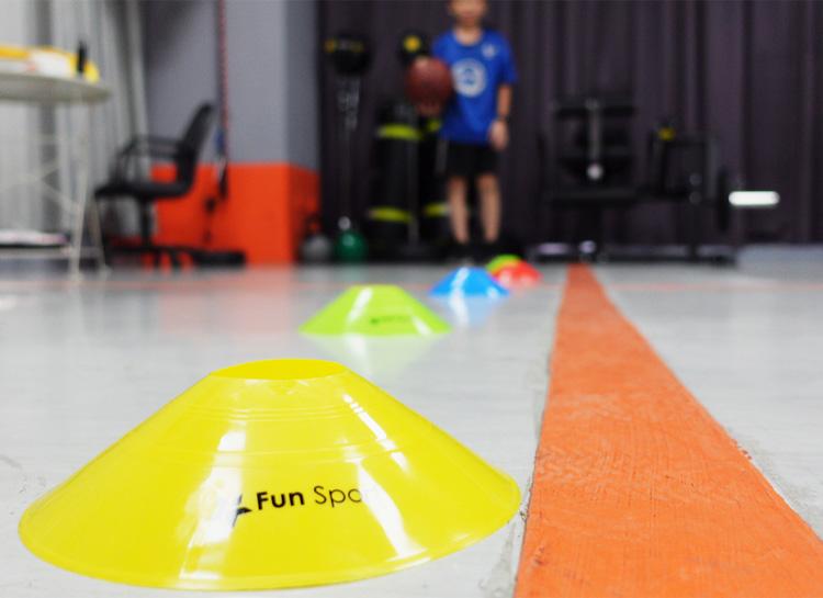 小尼克-記號盤(40片/組)(路障/飛碟盤/安全錐/三角錐/敏捷性訓練)-Funsport