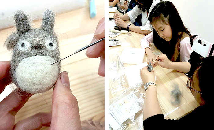 icolor南港羊毛氈手做課程