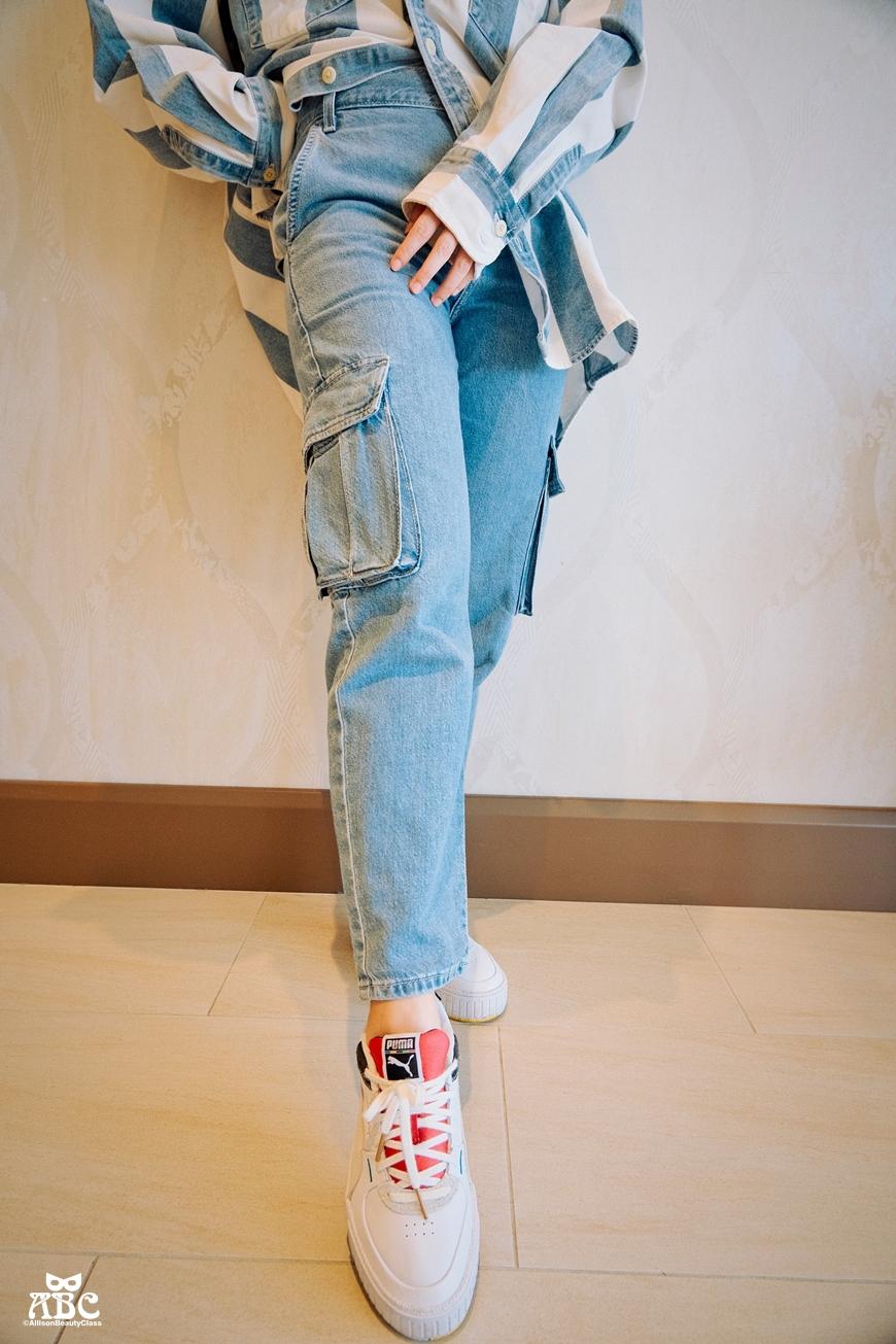 描述: 丹寧狂歡3折起!夏日丹寧穿搭這樣穿超顯瘦|LEVI'S&GUESS穿搭分享