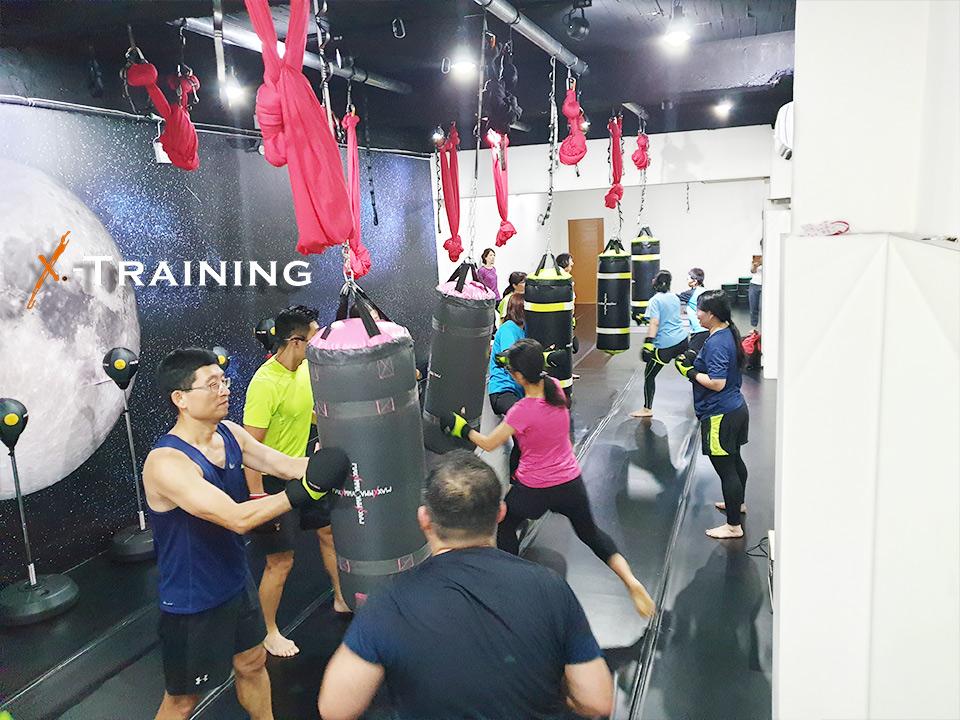 『心肺有氧』+「負重訓練」+「核心體能」是X-training的三大重點