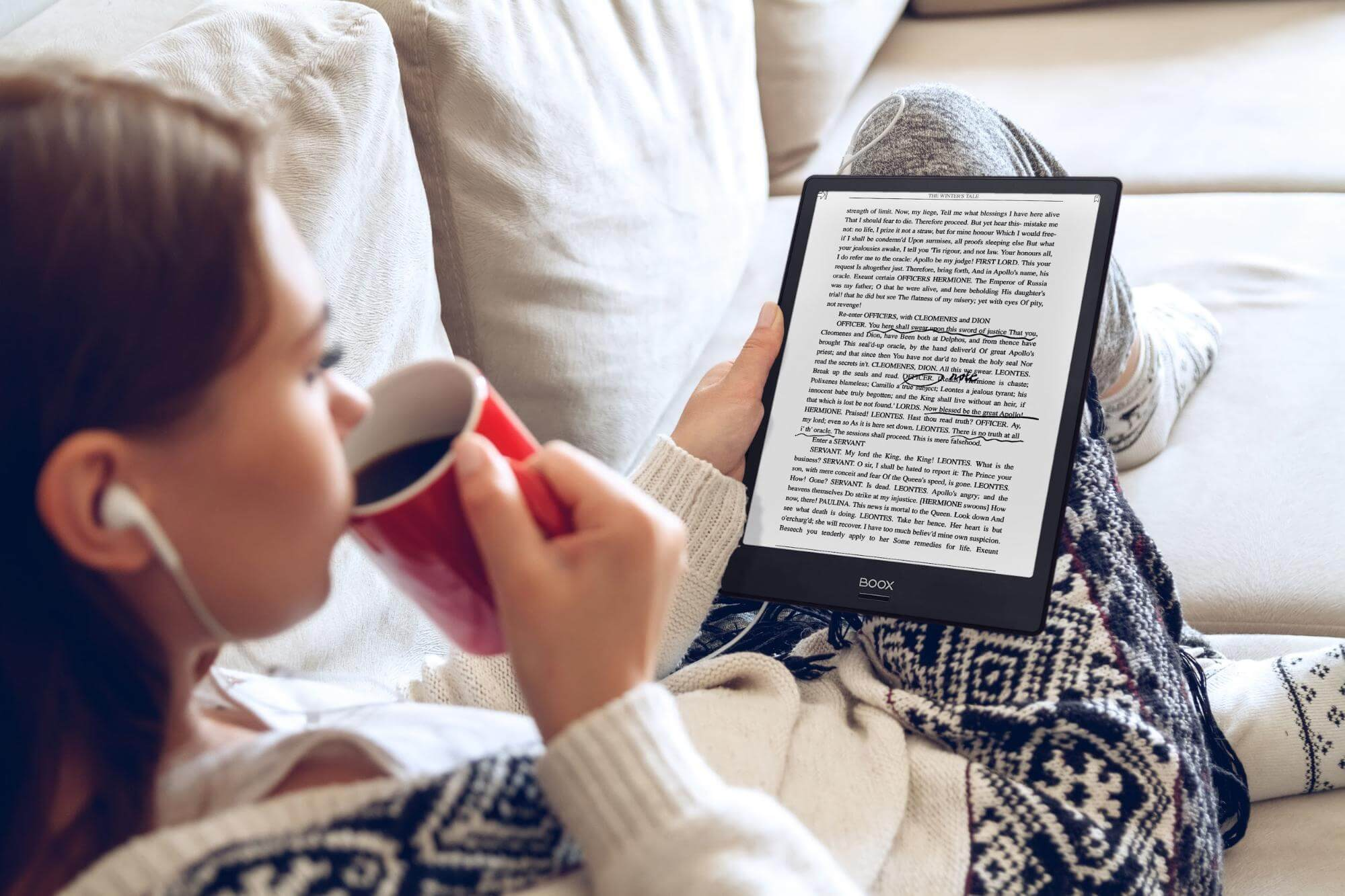 電子閱讀器優勢:干擾少,閱讀更專注