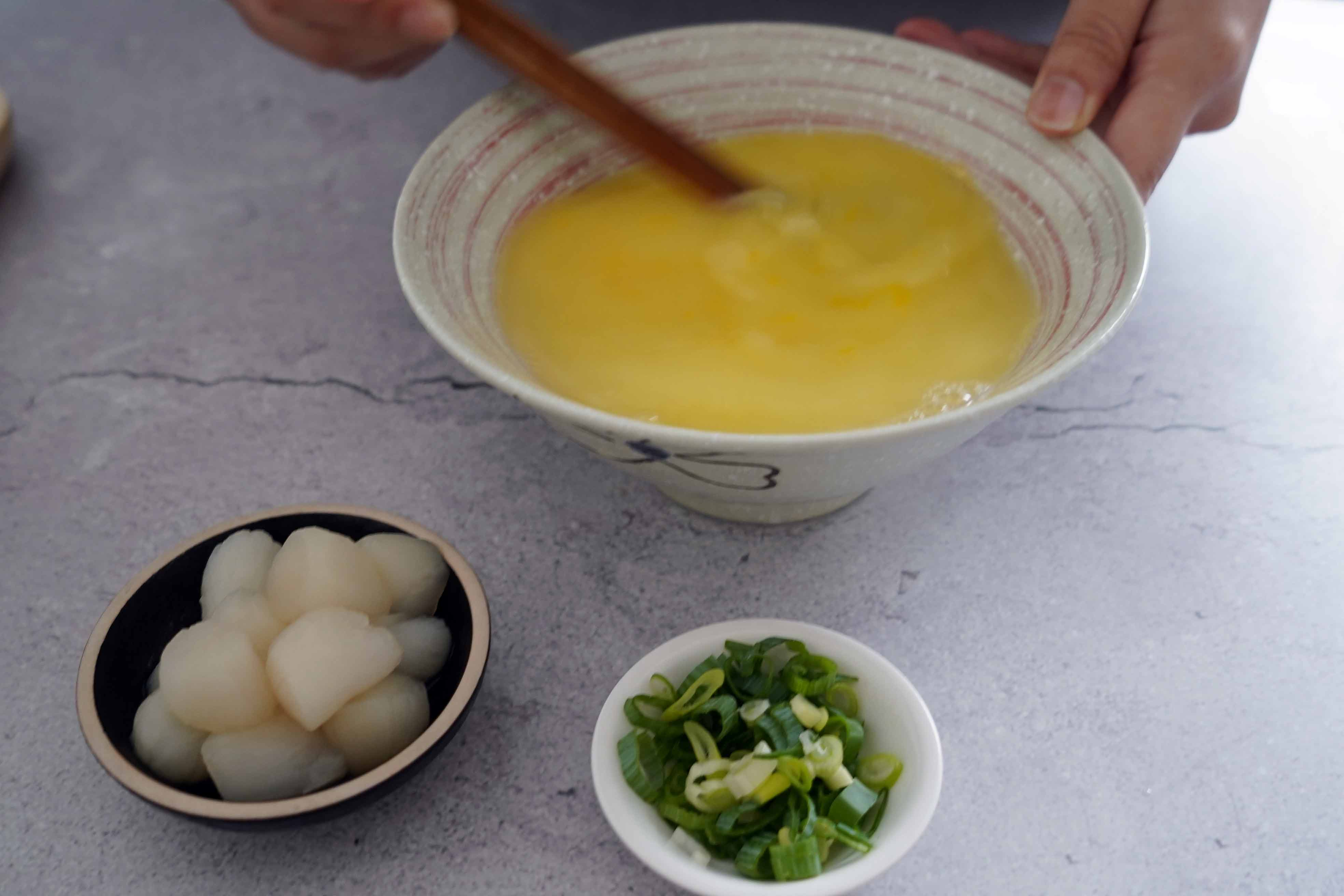 【完美蒸蛋】小干貝蒸蛋 就是這樣咕溜