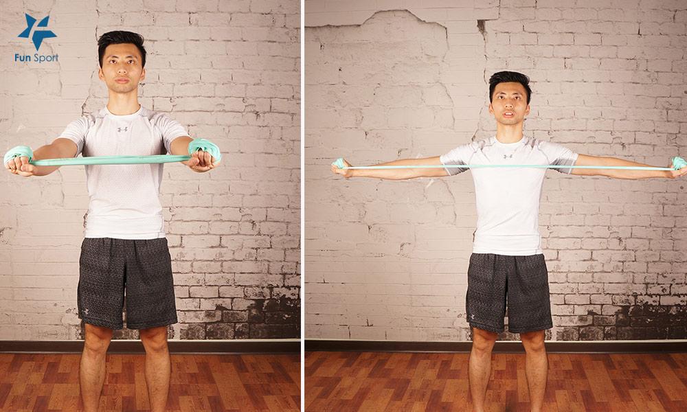 彈力帶擴背運動