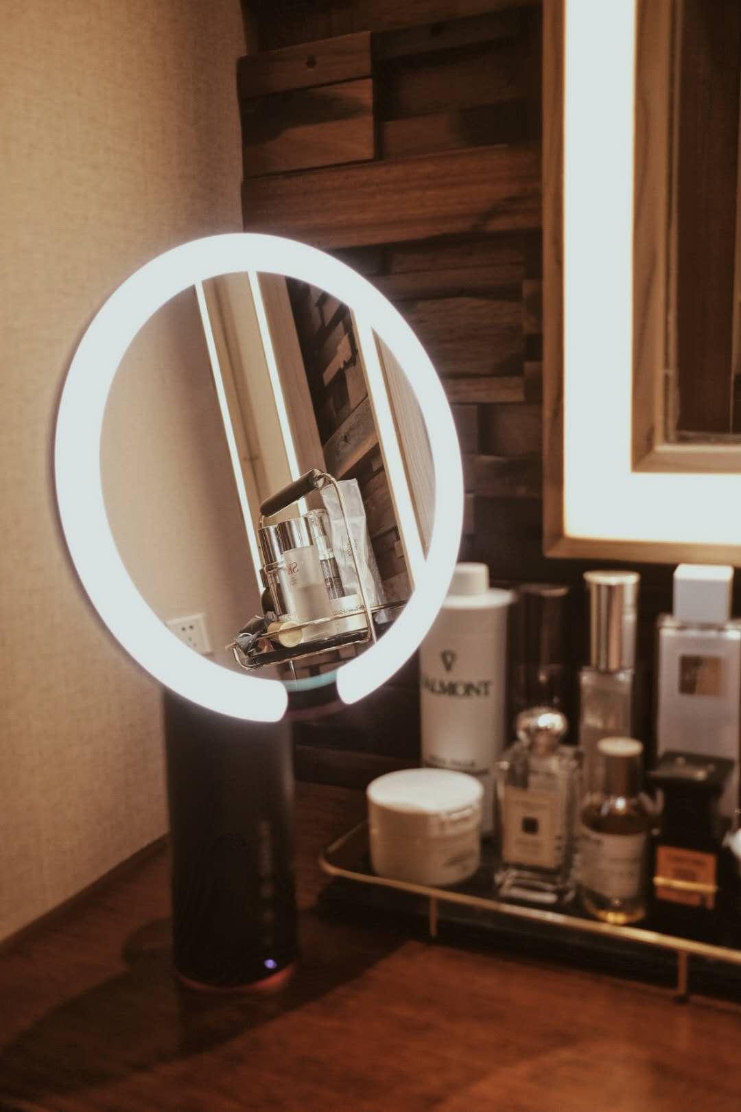 燈泡化妝鏡成像