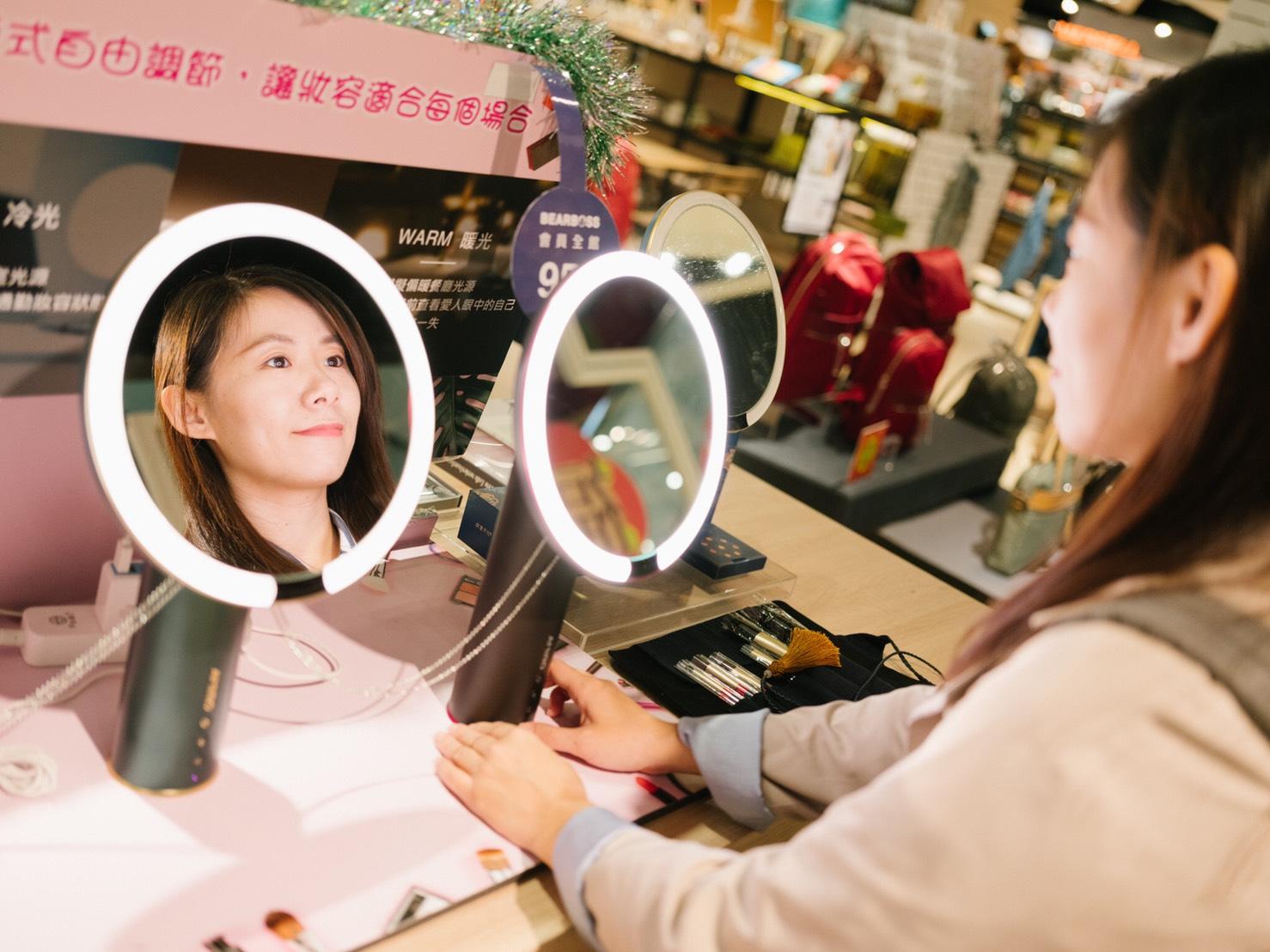 amiro化妝鏡試用