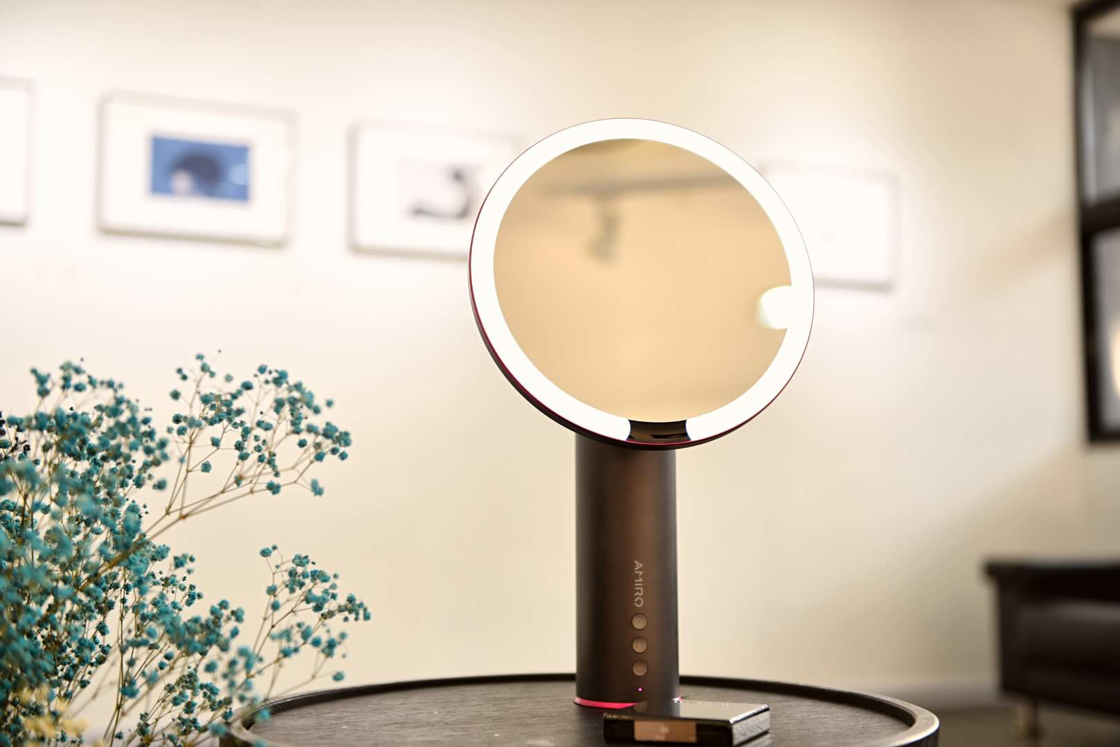 led化妝鏡打造專業髮妝室