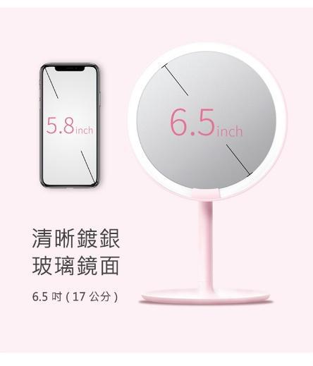 正確化妝步驟:Amiro Mini 高清日光化妝鏡