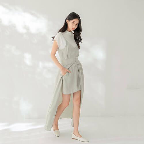 顯瘦洋裝褲裙