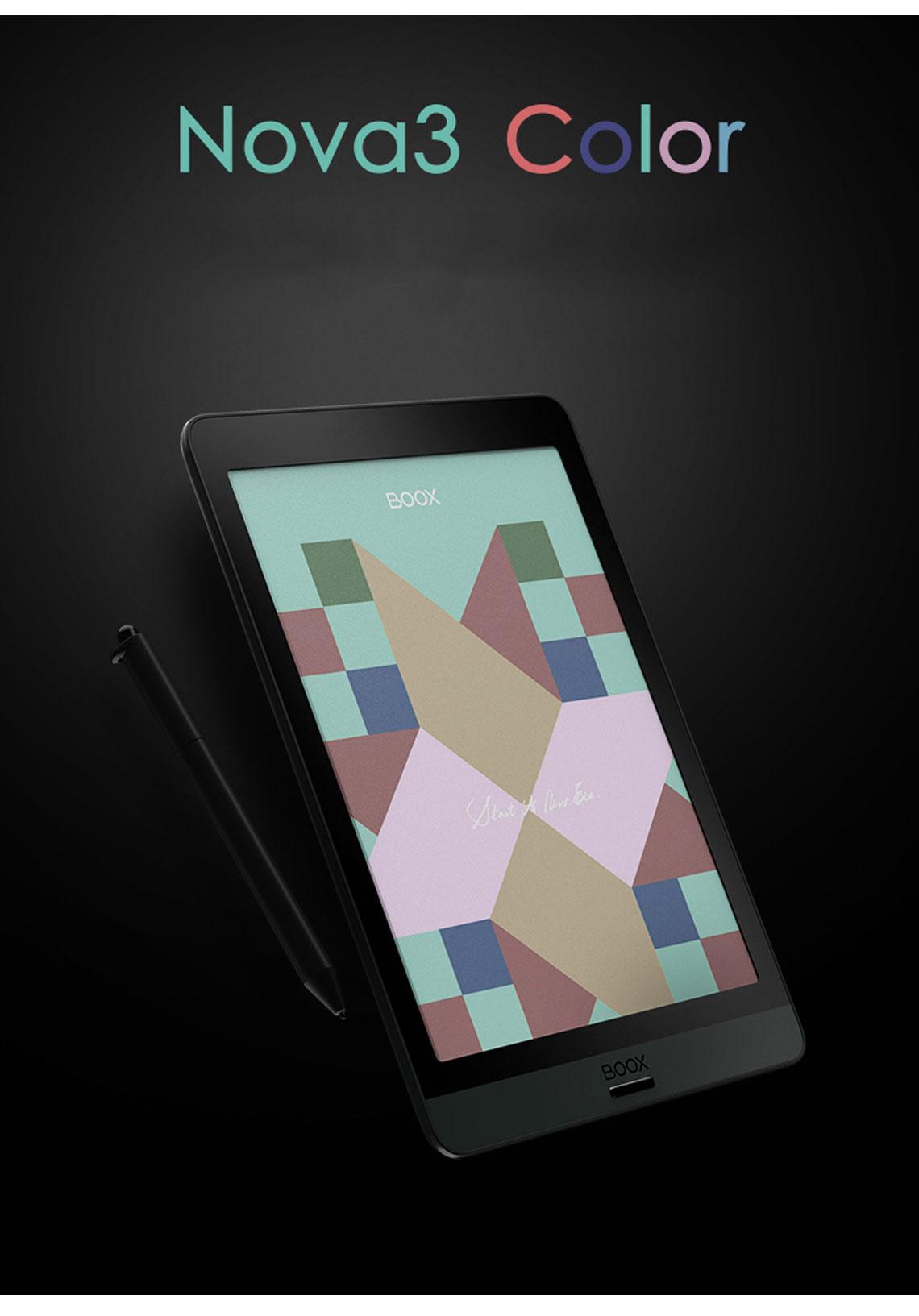 文石 BOOX Nova3 Color 7.8 吋 彩色電子閱讀器