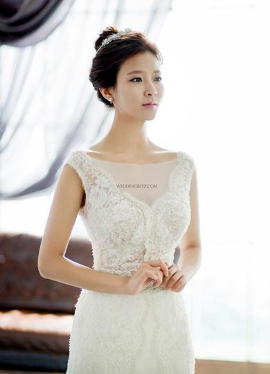 韓式新娘包頭